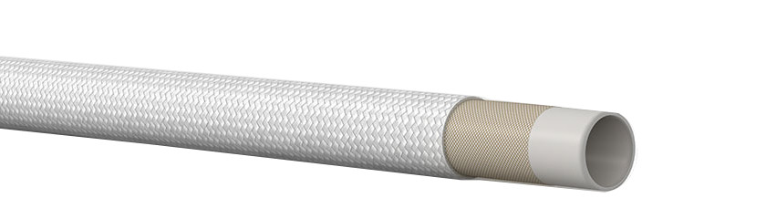 Cooling Water Discharge Hose with Fiber Glass Cover